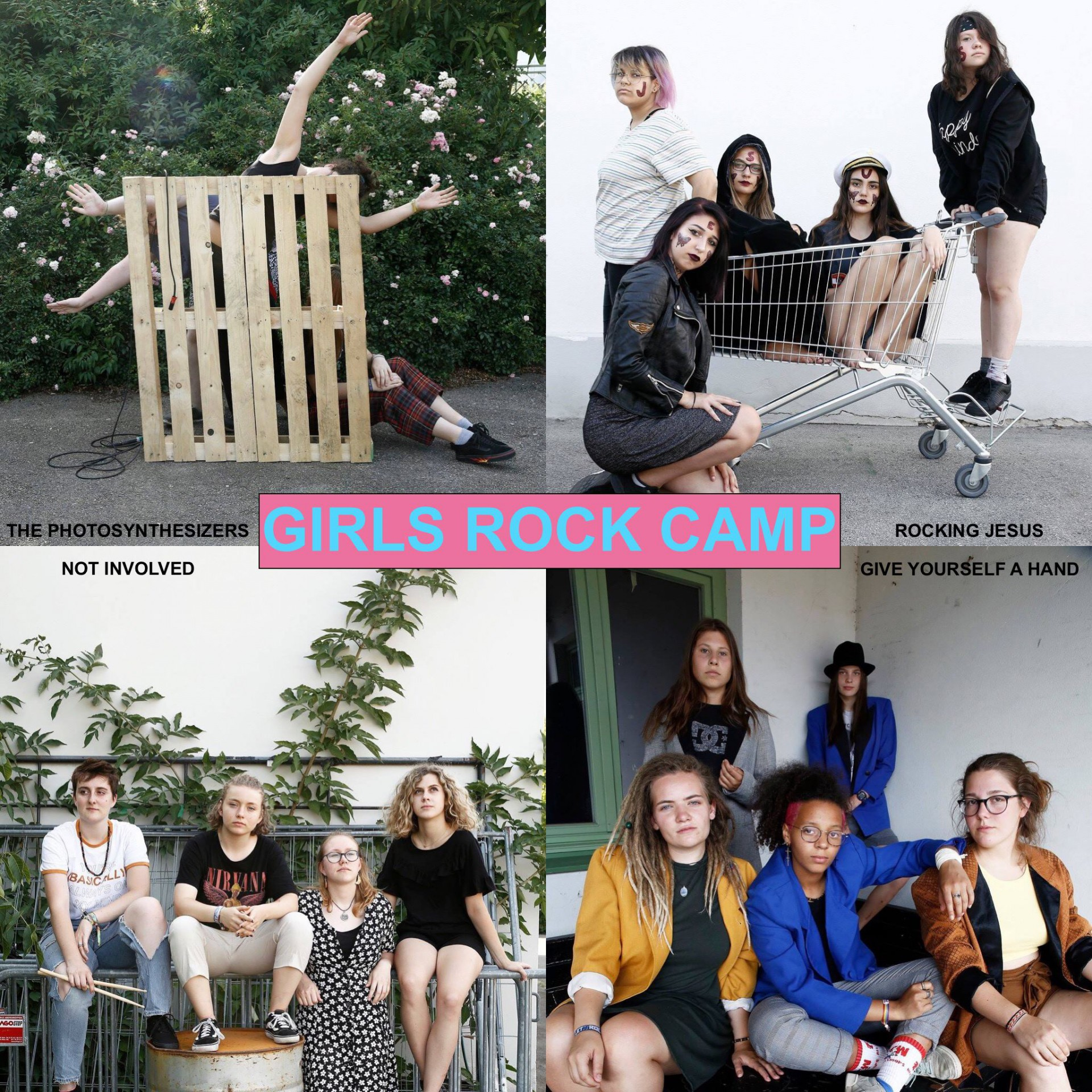 PINK NOISE GIRLS ROCK  CAMP Home